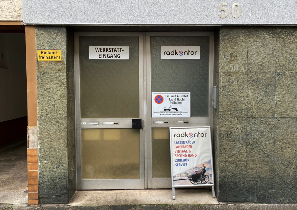 FAHRRAD WERKSTATT GEÖFFNET